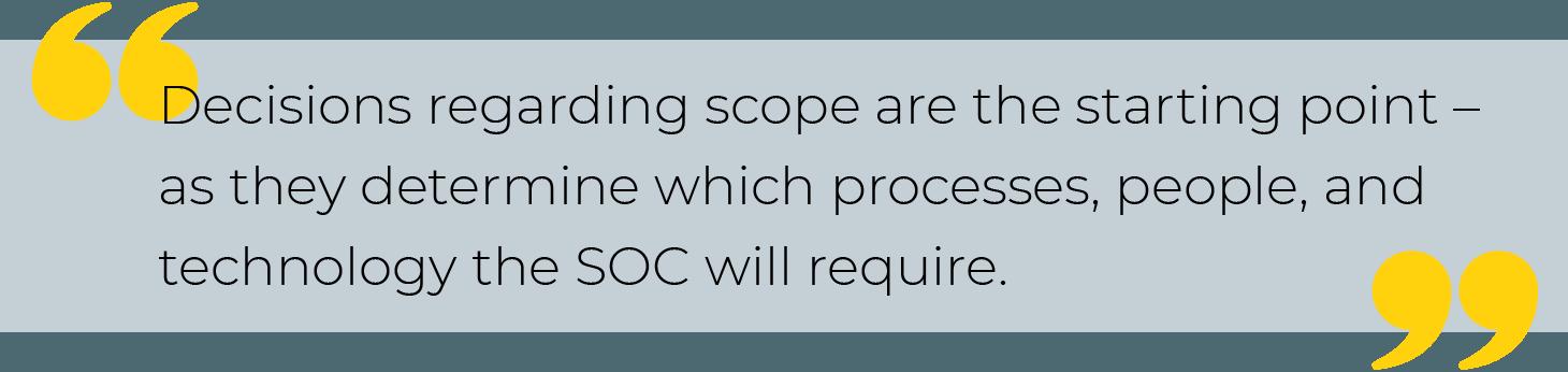 SOC operations