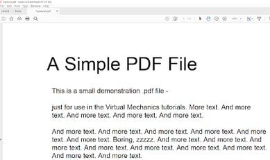 simple pdf 2